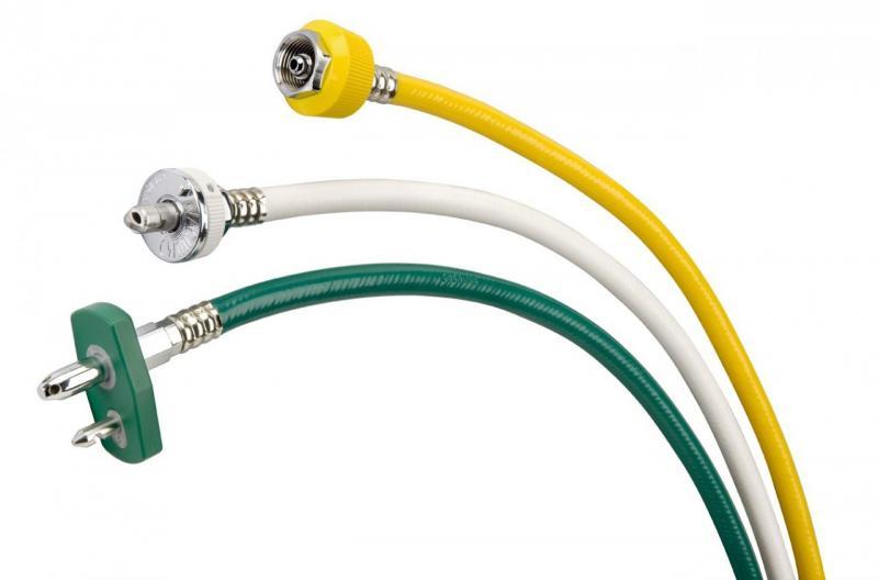 Medical grade hose assemblies