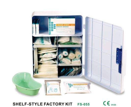 Shelf style factory kit