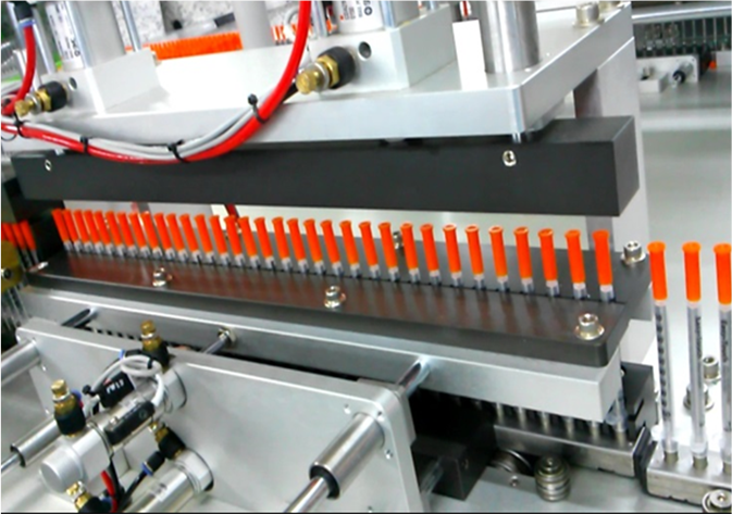 INSULIN SYRINGE ASSEMBLY LINE (WITH AUTO PACKING)