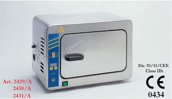 Dry sterilizer with forced air circulation