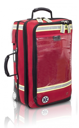 EB02.025 Emergencys respiratory bag with built-in trolley