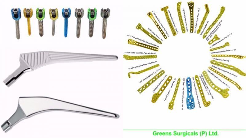 Orthopaedic Implants, Prosthesis, Locking Plates, Spine Screws, Trauma, Spine, Hemi and Total Joint Replacement