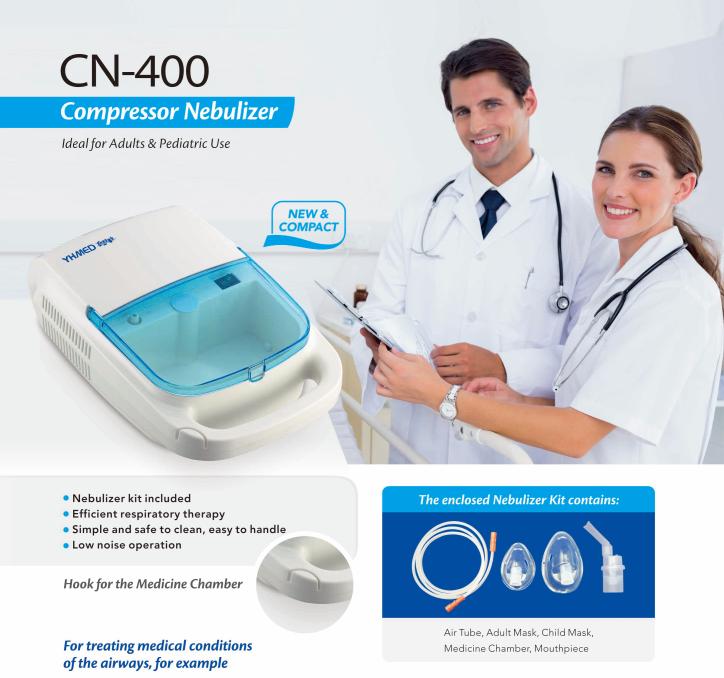 CN-400 Compressor Nebulizer