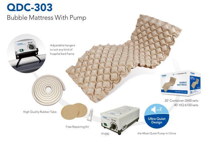 QDC-303 Bubble Mattress & Pump Anti-Decubitus System