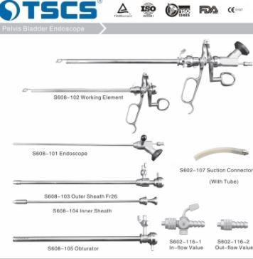 Pelvis Bladder Endoscope