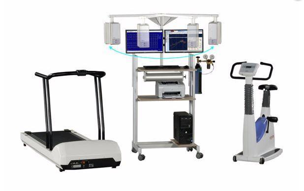 Cardiopulmonary system (Ergospirometry system)