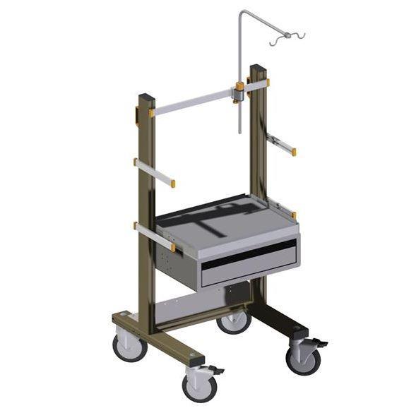 Hospital emergency cart