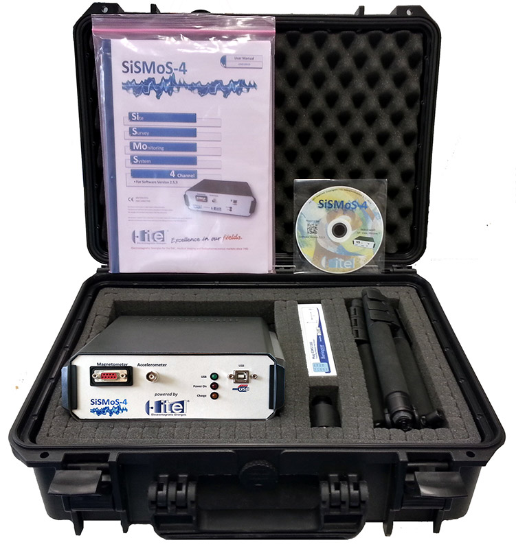 SiSMoS-4 - Site Survey Monitoring System