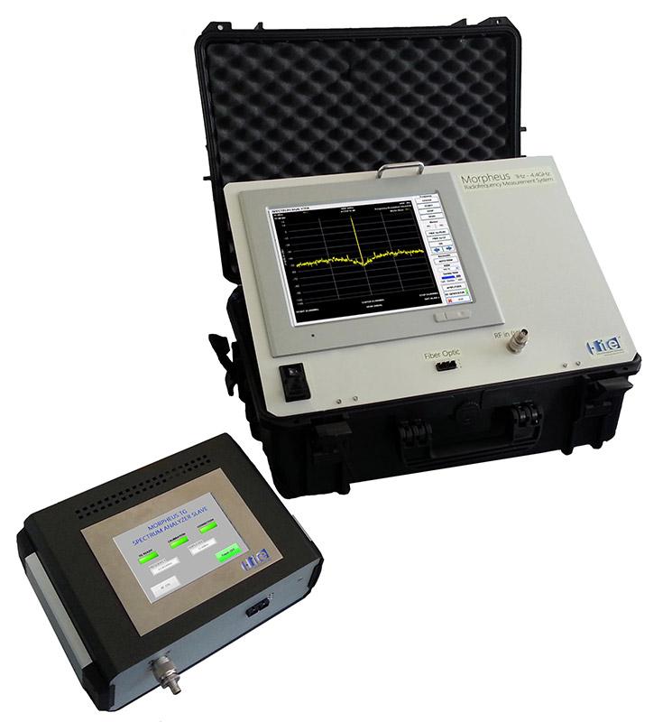 Morpheus Spectrum Analyzer and Tracking Generator