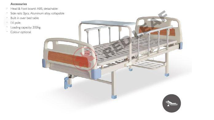 H101F One-crank Manual Bed