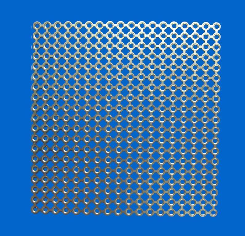 B-type titanium mesh plate