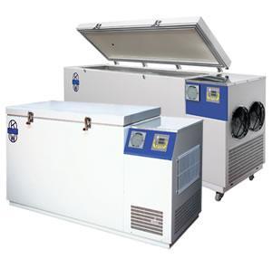 Horizontal freezers -40 ° C
