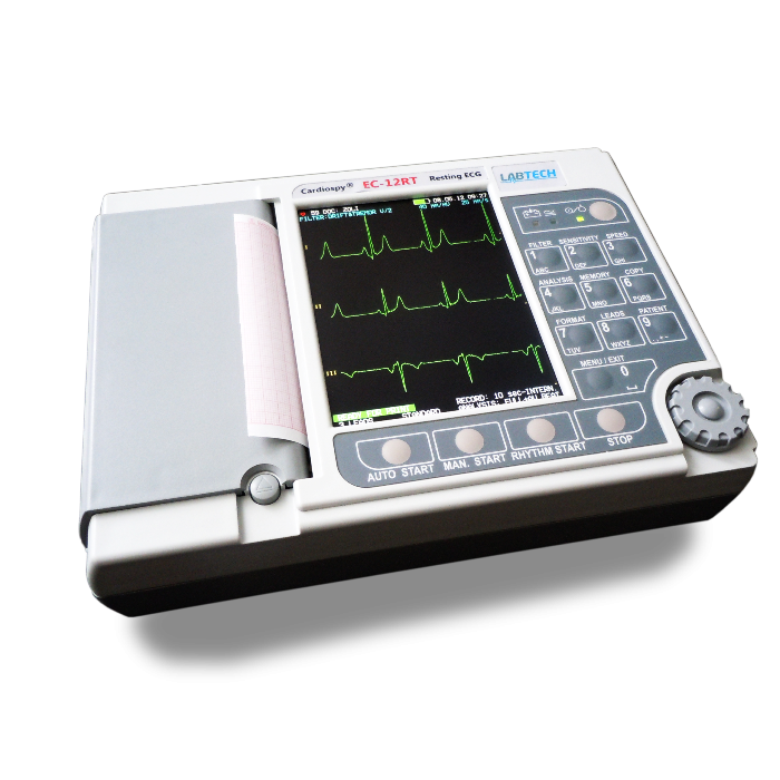 EC-12RT 12-CHANNEL RESTING ECG MACHINE