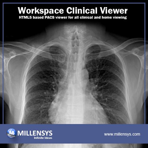 Vision Tools Workspace clinical Viewer is a state of the art HTML5 based PACS viewer