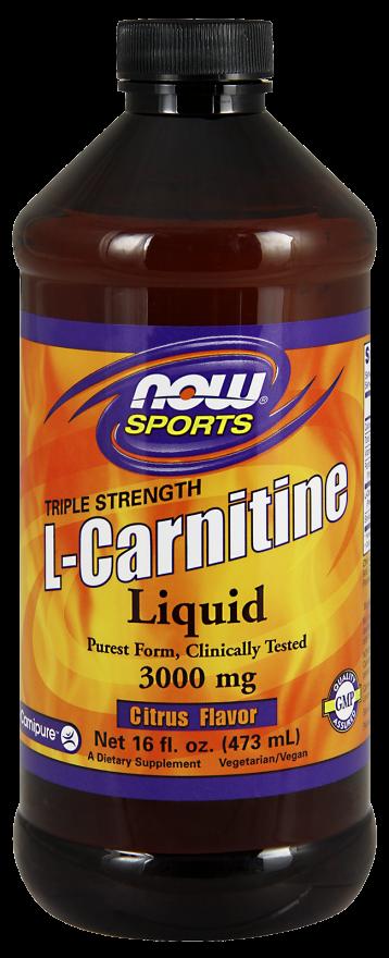 NOW L-Carnitine Liquid 3000mg 16oz