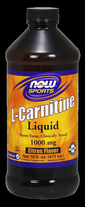 NOW L-Carnitine Liquid 1000mg 16oz