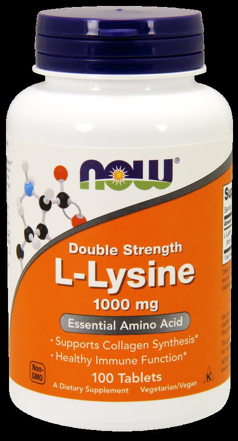 NOW L-Lysine 1000mg Tabs 100s