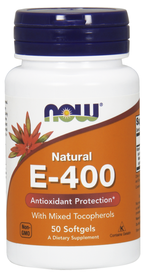 NOW E-400 IU 50 softgels