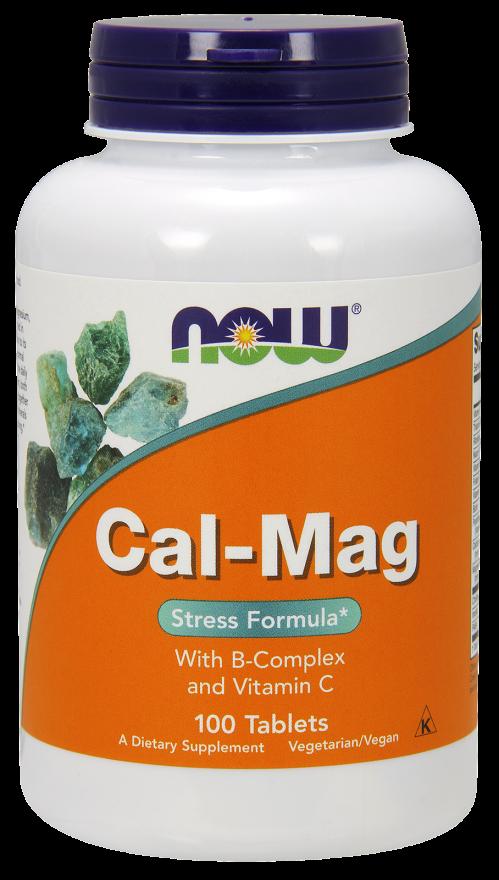 NOW Cal-Mag Stress Formula Tabs 100s