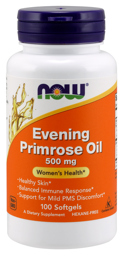 NOW Evening Primrose Oil 500 mg Softgels