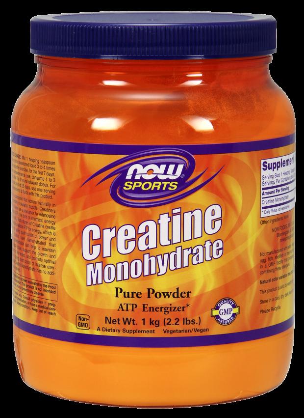 NOW  Creatine Monohydrate Powder (600g) 21.2 oz