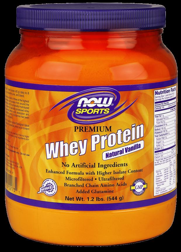 NOW Premium Whey Protein Vanilla 1.2 lb