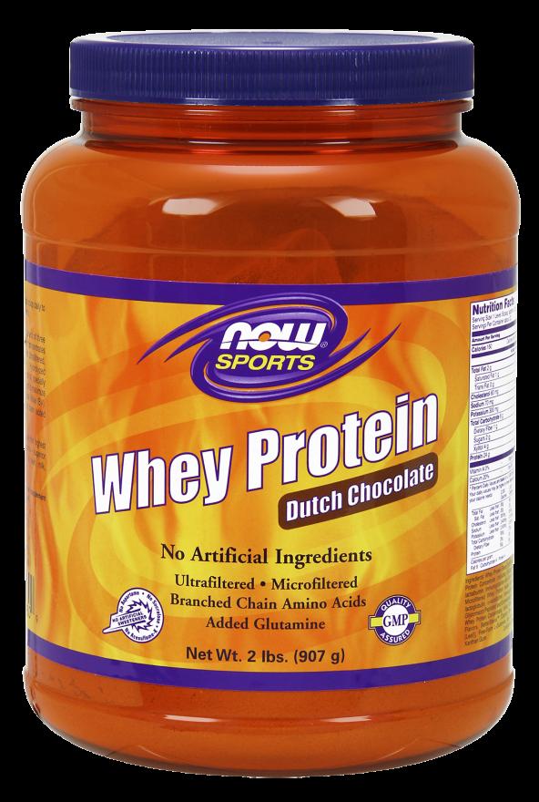 NOW Whey Protein Dutch Chocolate 2lb