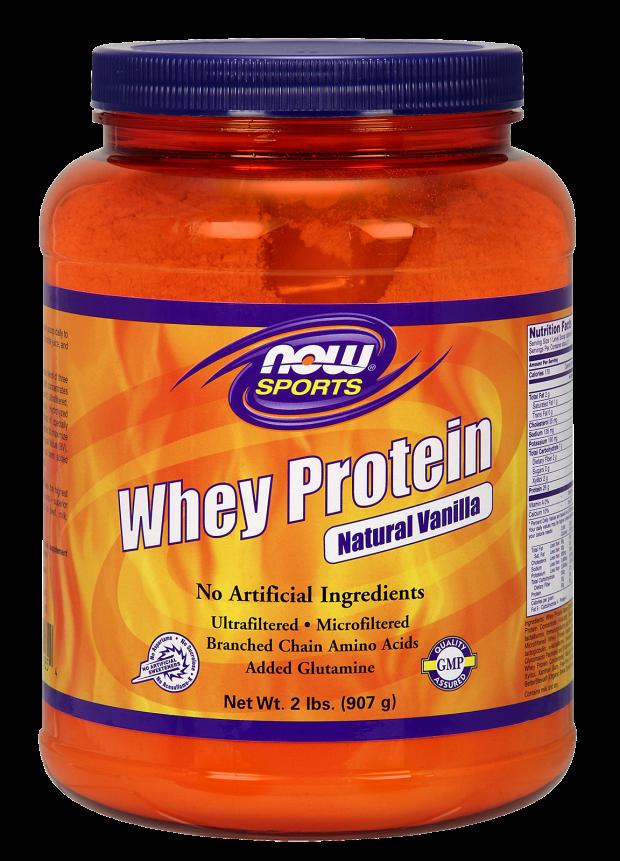 NOW Whey Protein Vanilla 2lb