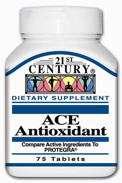 21st Century ACE Antioxidant Tabs 75's