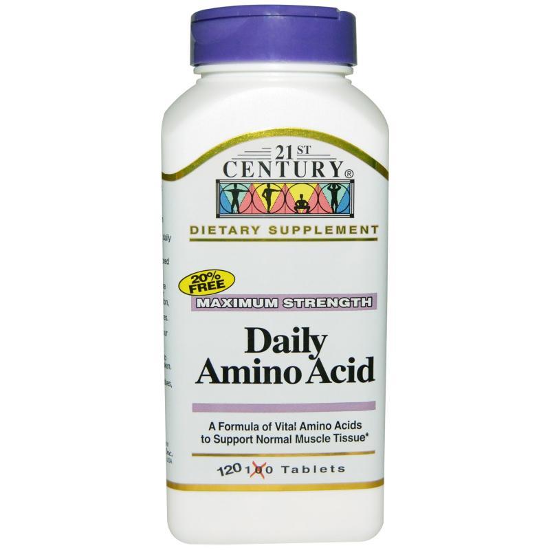 21st Century Daily Amino Acid Tabs 120's