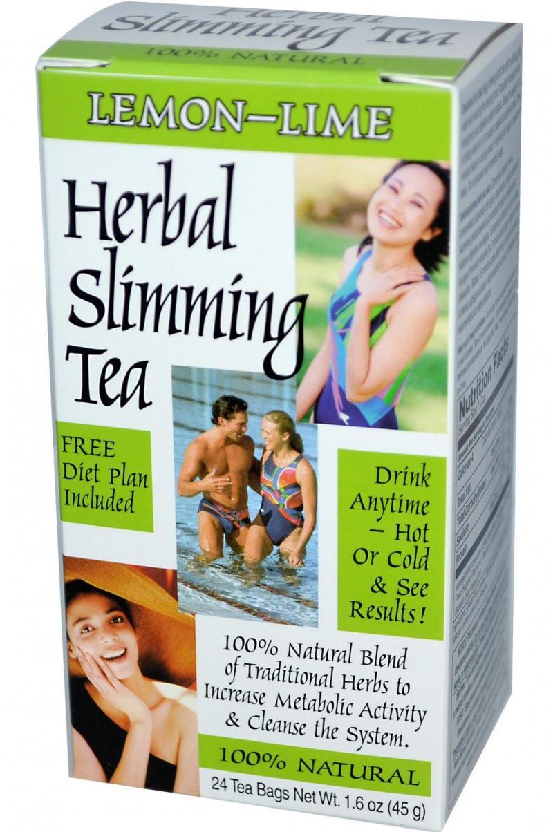 21st Century Herbal Slimming Tea-Lemon Lime 24 Bags