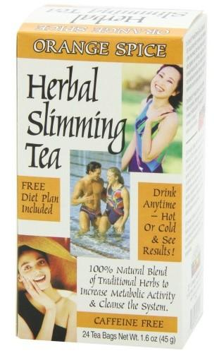 21st Century Herbal Slimming Tea-Orange Spice 24 Bags