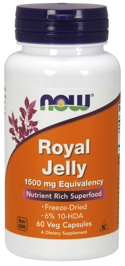 NOW Royal Jelly Capsules