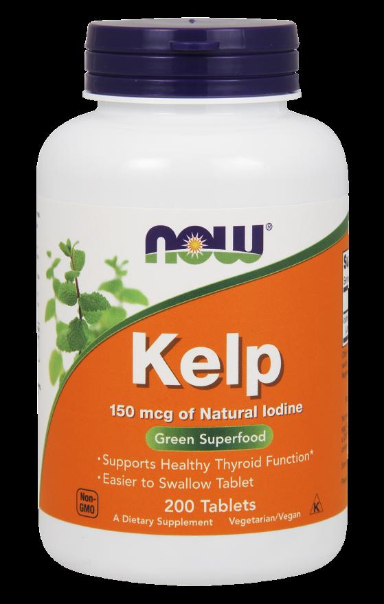 NOW Kelp 150 mcg Tablets