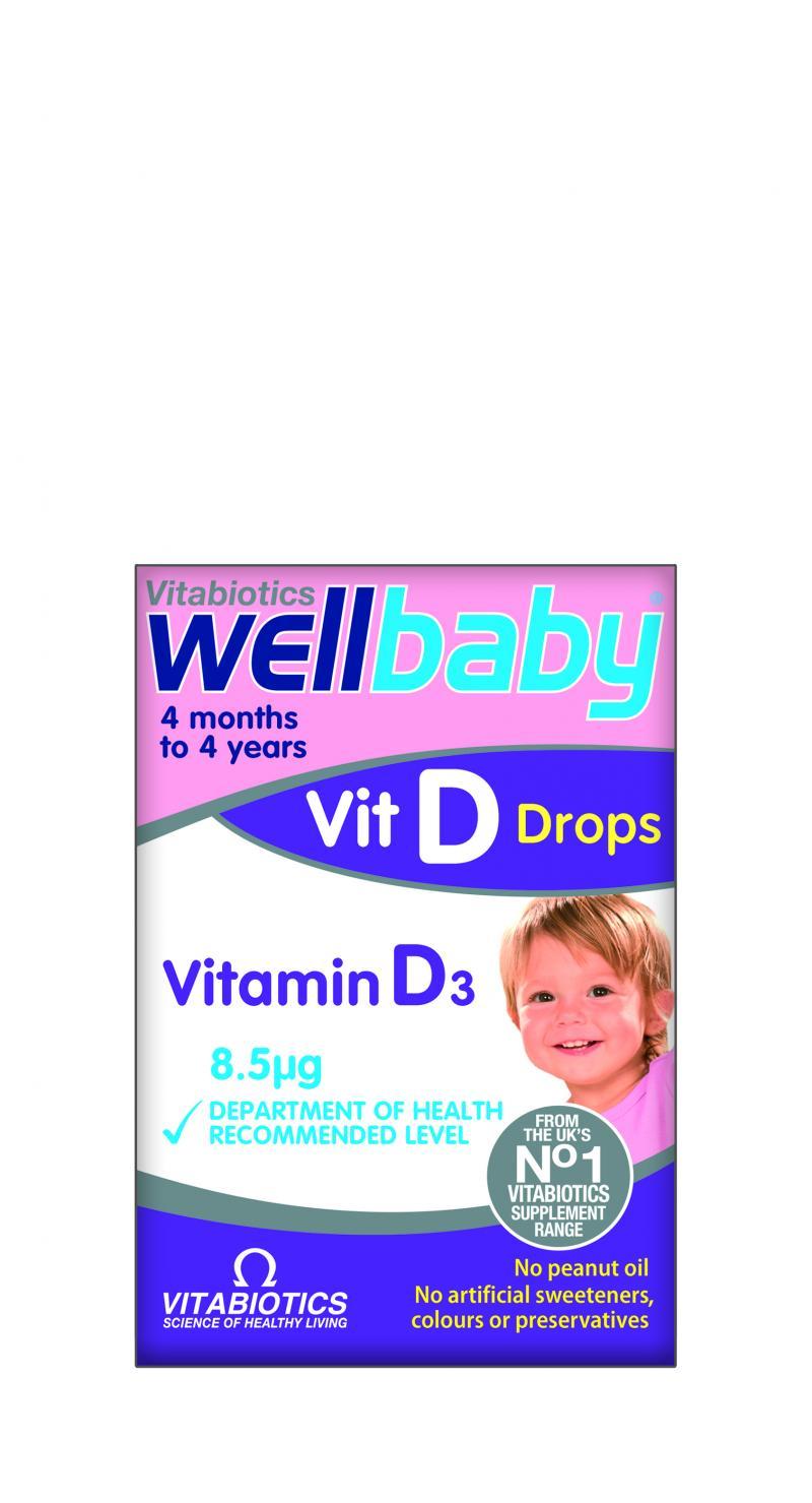 Vitabiotics Wellbaby Vit D Drops 30 ml
