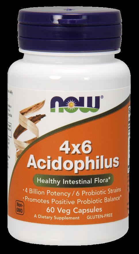 NOW Acidophilus 4X6 Capsules
