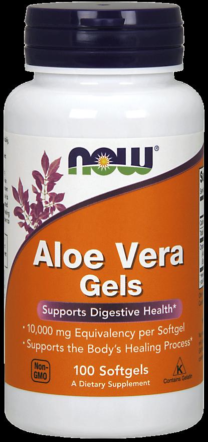 NOW Aloe Vera 10,000 mg Softgels