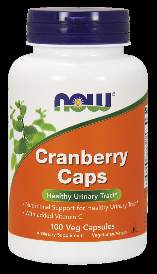 NOW Cranberry Caps Capsules