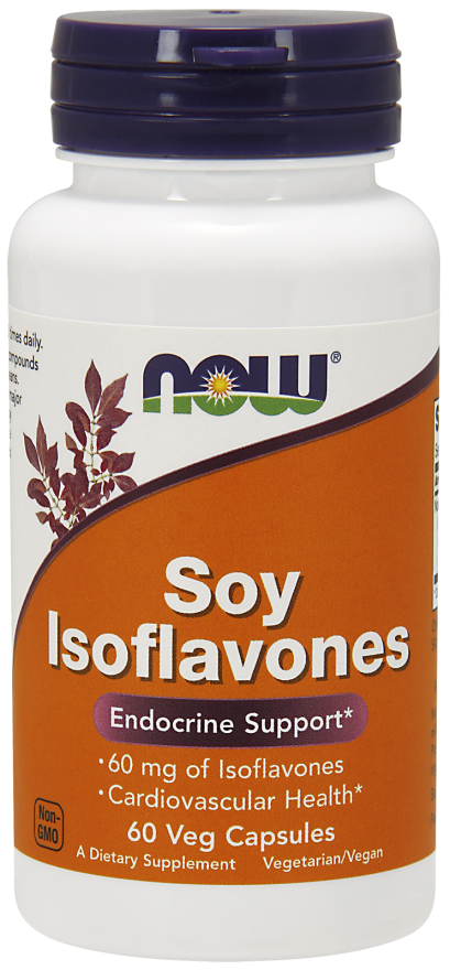 NOW Soy Isoflavones 150 mg Veg Capsules