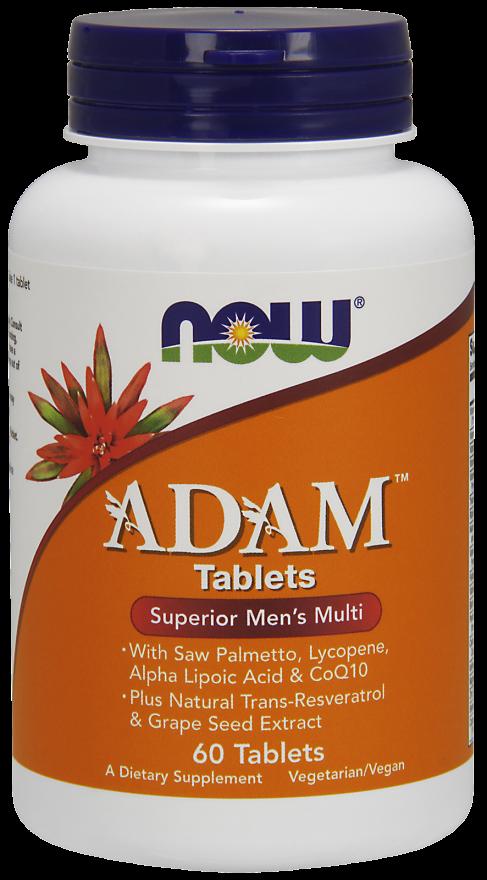 NOW ADAM Men's Multiple Vitamin Tablets