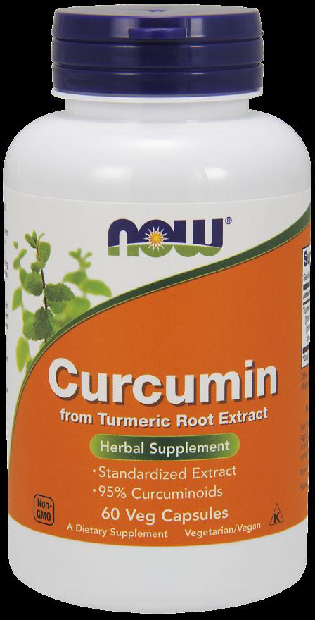 NOW Curcumin Veg Capsules