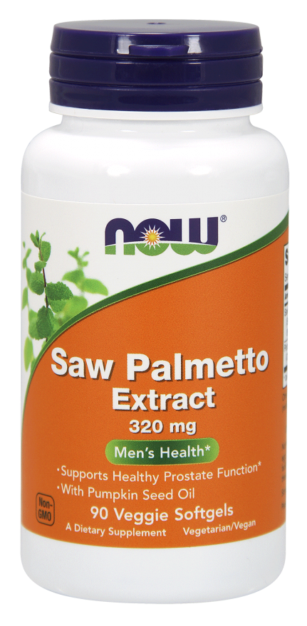 NOW Saw Palmetto Extract 320 mg Veggie Softgels