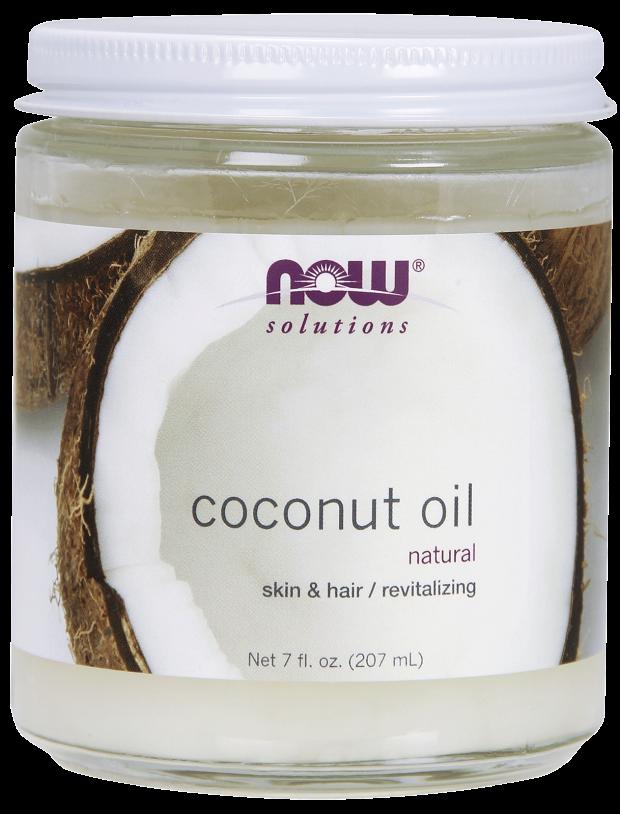NOW Coconut Oil 7 fl oz Natural