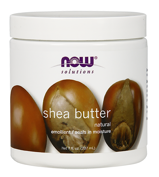 NOW Shea Butter, 7 fl oz  Natural