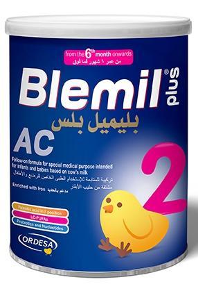 Ordesa Blemil Plus 2 AC 400 grms