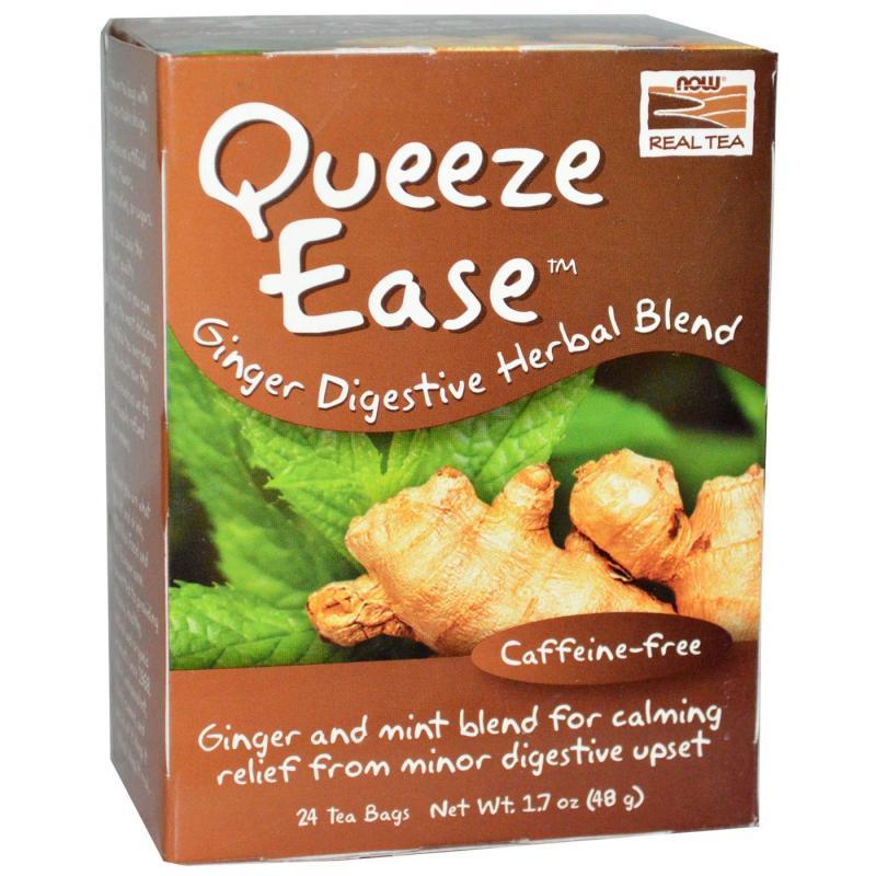 NOW Queeze Ease-Mint Tea