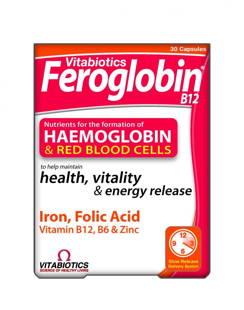 Vitabiotics Feroglobin B12 30 Cap