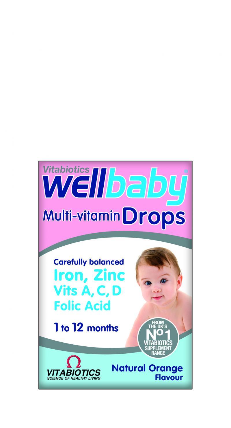 Vitabiotics Wellbaby Multivitamin Drops 30 ml