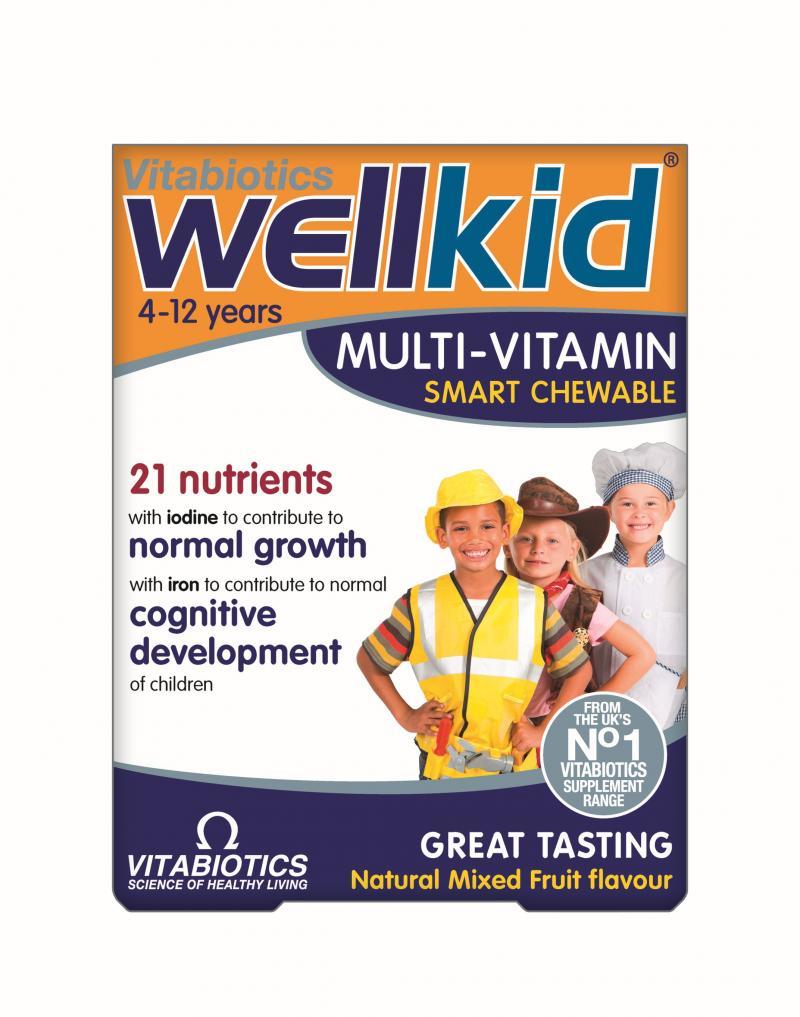 Vitabiotics Wellkid MV Smart Chewable 30 Tabs