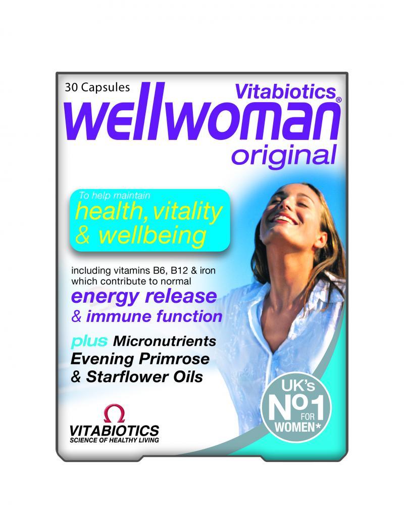 Vitabiotics Wellwoman 30 Caps